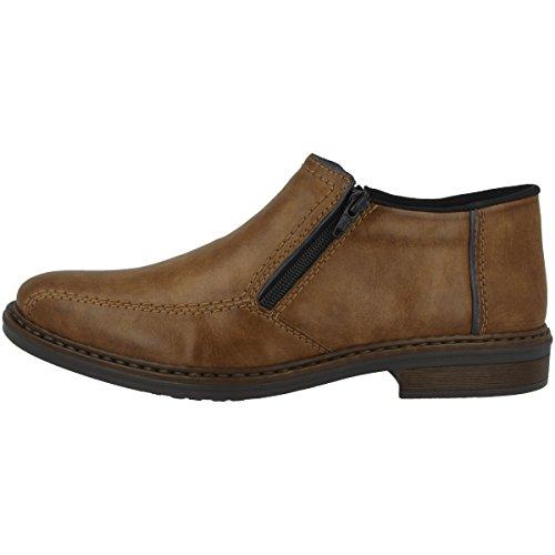Rieker Herren 17652 Klassische Stiefel, Braun (Peanut/Navy 24), 46 EU