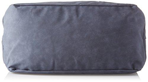 K-Way K-Sleek Suede, Borsa a Mano Uomo, 24 x 30 x 50 cm (W x H x L) Blu (0A3 Navy)