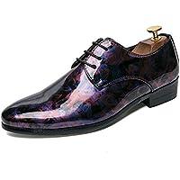 Apragaz Scarpe da Ballo di Moda Scarpe di Moda per Uomo in Pelle Verniciata  Moda Oxford 10cac2043dc