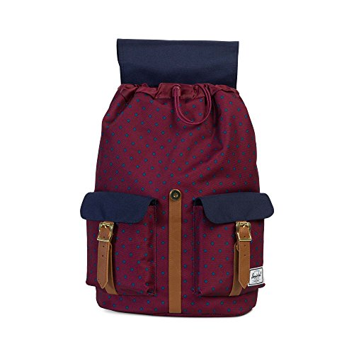 Herschel Supply Company Dawson Casual Tagesrucksack backpack university winsor wine/peacoat