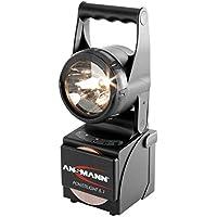 ANSMANN Powerlight 5.1 Profi Arbeitsscheinwerfer 5W / Robuste LED Handscheinwerfer als Arbeitslampe oder Notbeleuchtung bei Stromausfall / Stoßfestes & wassergeschütztes Gehäuse (Schutzart IP65)