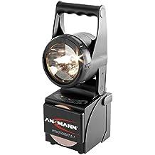 ANSMANN 5802082 Power Light 5.1 Faretto da Lavoro Portatile Alogeno a Batteria Campeggio Caccia Artigianato