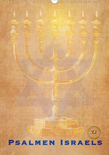 Kunstkalender Psalmen Israel (Wandkalender 2020 DIN A3 hoch): Designerkalender mit Psalmen für Israelfreunde (Monatskalender, 14 Seiten ) (CALVENDO Kunst)