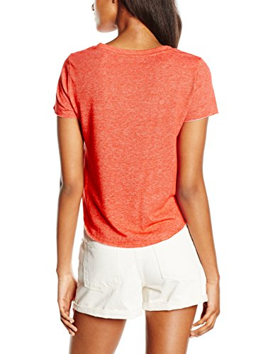 Only Damen T-Shirt Onldream S/S Box Swt Rosa (Chrysanthemum Print:OH SH T!)