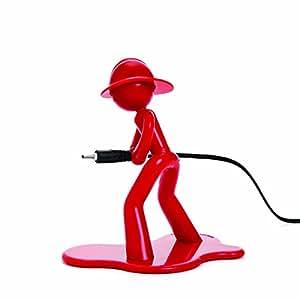 kabelhalter charging charlie red k che. Black Bedroom Furniture Sets. Home Design Ideas