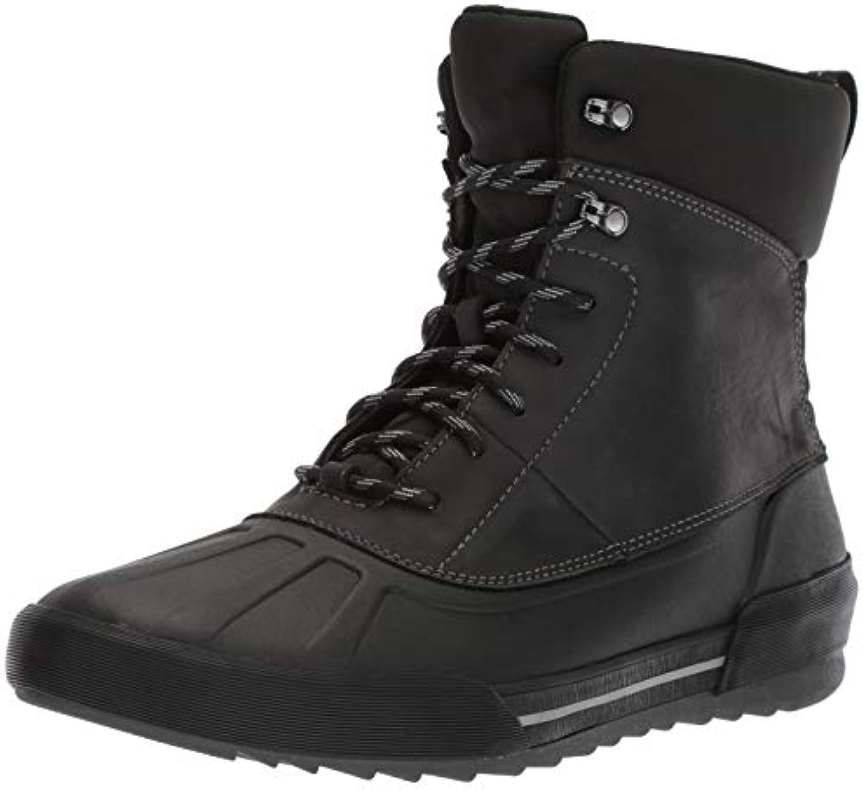 Clarks Men's Bowman Peak avvio, nero Leather, Leather, Leather, 115 M US | una vasta gamma di prodotti  4b7914