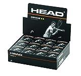 Head Prime - Palline da Squash, Unisex, 287306, Nero, Taglia Unica