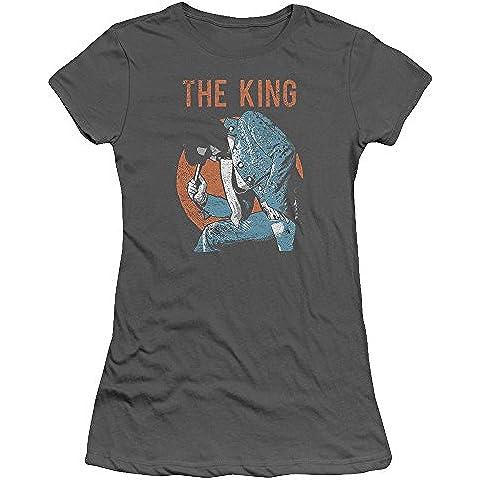 Elvis Presley - - Mic de la Mujer En La Mano de la camiseta
