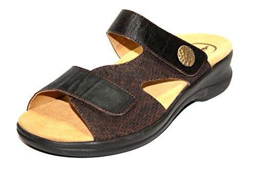 Ganter Damen Schuhe Pantoletten, Weite G Braun