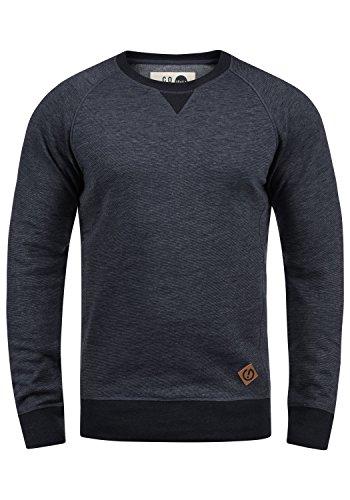 !Solid VituNeck Herren Sweatshirt Pullover Pulli Mit Rundhalsausschnitt, Größe:M, Farbe:Insignia Blue Melange (8991)