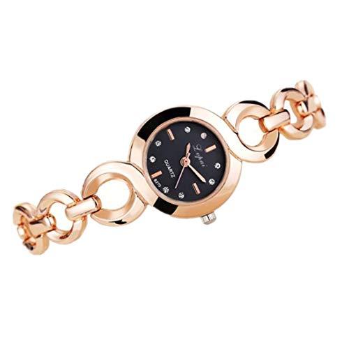 YunYoud Frauen Quarz Armbanduhr Uhr Damen Kleid Geschenk Uhren moderne digitaluhr sportliche billige uhr modische elegante leder hochwertige klassische titan schlichte Uhr