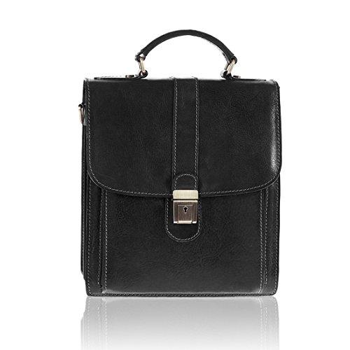 #MYITALIANBAG, Pochette pour Homme, noir (noir) - 83017BLACK noir