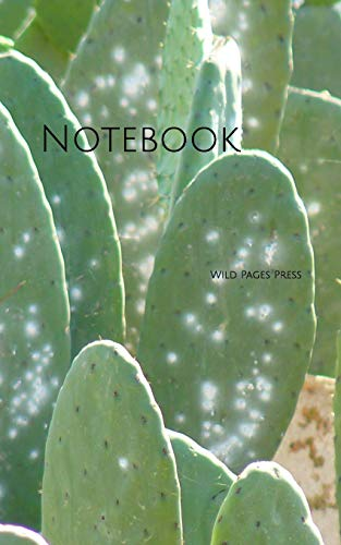 Notebook: Cactus green plant botanical garden -
