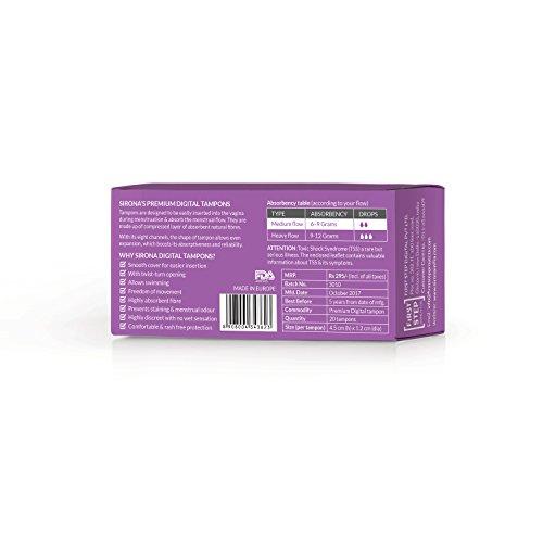 Sirona – Premium Digital Tampon – 20 Pcs