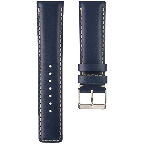 padded-and-stitched-d-1-pilot-genuine-leather-watch-strap-in-blue-20mm