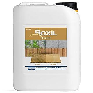 Roxil Reiniger - Reinigt Terrassen, Zäune, Holzstrukturen, Veranden und gepflasterte Flächen - 5 Liter