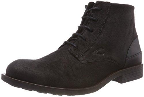 Herren Rugged Casual Boot (camel active Herren Check 12 Biker Boots, Schwarz (Black 4), 42 EU)