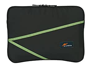Protecta Switch Laptop Sleeve for 14.1 Inch Laptops (Black & Green)