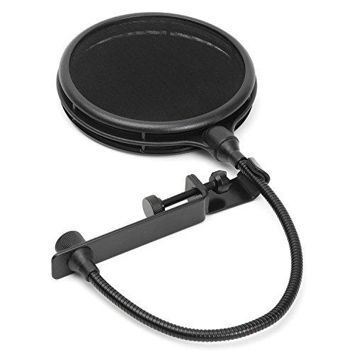 LyxPro MOP-28 Doppelschicht-Mikrofon-Popschutz