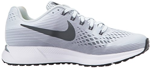 Nike Wmns Air Zoom Pegasus 34, Scarpe Running Donna Grigio (Pure Platinum/cool Grey/black/anthracite 010)