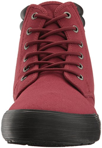Dr. Martens Mens Eason Ankle Bootie Cherry Red