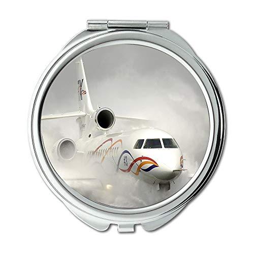Yanteng High-Definition-Flugzeuge, Spiegel, Compact Mirror, Street Fighter Xbox 360, Taschenspiegel, Tragbare Spiegel