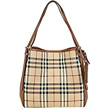 66270a24d556 BURBERRY Sac tote small canterburry horseferry check ankc009 Donna brun