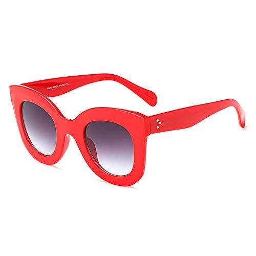 CHENGZI Gedruckt Große Runde Sonnenbrille Sommer Cat Eye Sonnenbrille Frauen
