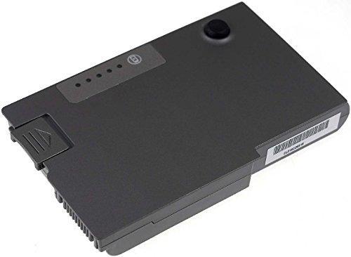 D600 Series Akku (Akku passend zu DELL Latitude D600 Serie, Li-Ion, 5200mAh, 11,1V, 58Wh, Metallic Grau)