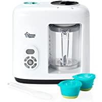 Tommee Tippee Baby Food Steamer Blender (White)
