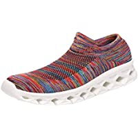 Zapatos de Mujer Zapatillas Deportivas para Correr Moda Pareja Ocio Fuerza Ligero Elástica Running Gimnasio