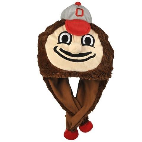 NCAA Ohio State Buckeyes Thematic Mascot Dangle Hat
