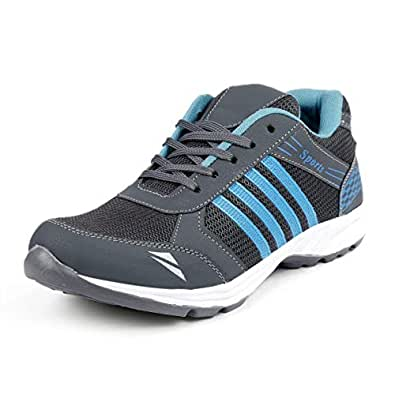 Deals4you Premium Quality Blue Sports Running Shoes for Mens and Boys (6)