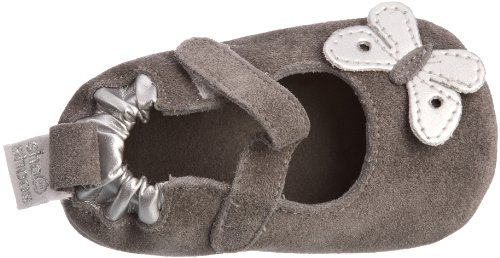 Shoo Shoos Butterfly Baby, Chaussures bébé fille Gris-V.4