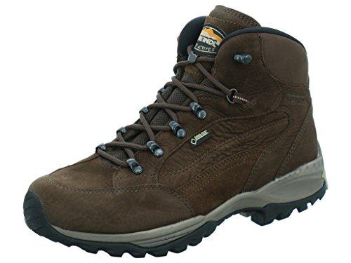 Meindl  3896-46,  Scarponcini da camminata ed escursionismo uomo Marrone dunkelbraun Edmonton GTX Dark Brown