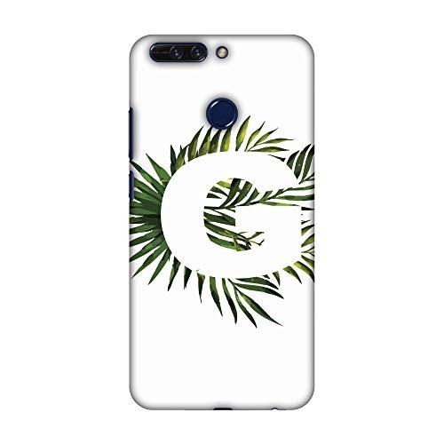 Hartschalen-Schutzhülle für Huawei Honor 8 Pro (dünn, handgefertigt, mit tropischem Fern-G, Ultraleicht)