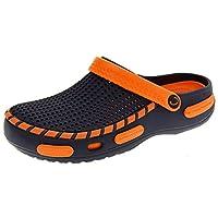 Footwear Studio Coolers Mens Orange Beach Sandals Clogs UK 8