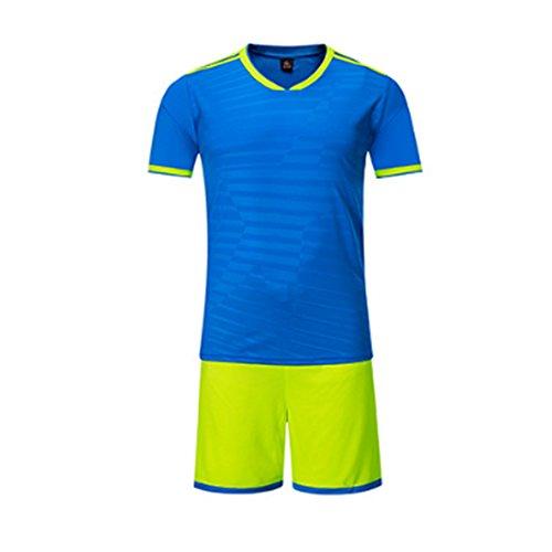 ey Sport Kostüme Kleidung Fußball für Männer und Frauen Sommer Anzüge Kleidung Sets Jersey und Kurz (Frauen Fußball Kostüme)