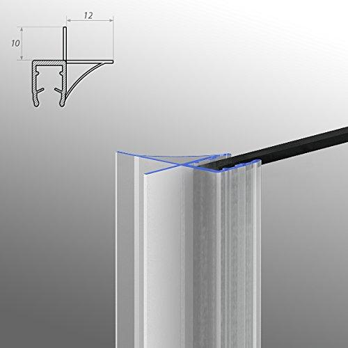 Duschdichtung Dichtleiste Modell 6 für 8mm Glasstärke 90cm