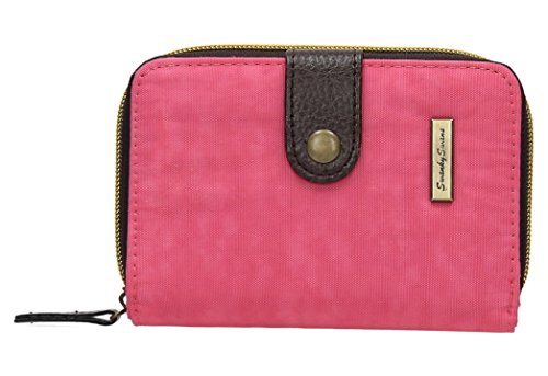 Riley Nylon-Damen-Portemonnaie, klein, zum Aufklappen, SwankySwans