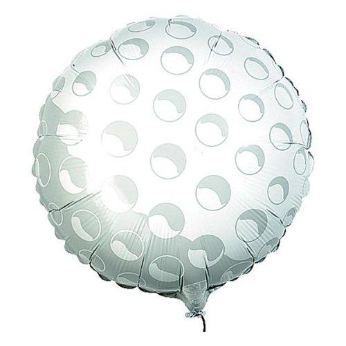 Qualatex Folienballon 28736Golf ball-number 1, 45,7cm farbenreiche