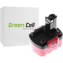 Green Cell® Batería de Herramienta Eléctrica para Bosch PSR 1440 (Ni-Cd 2Ah 14.4V)