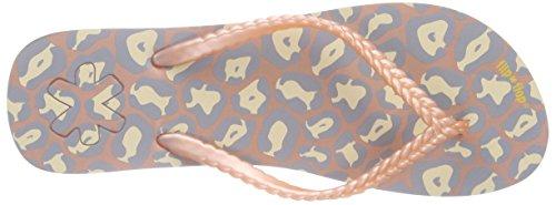 flip*flop - Slim Leo, Sandali infradito Donna Multicolore (Mehrfarbig (220))