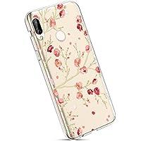 Ysimee Schutzhülle für Huawei Nova 3e Cherry Blossom Tree