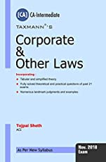 Corporate & Other Laws (CA-Intermediate)(For November 2018 Exams-As per New Syllabus)