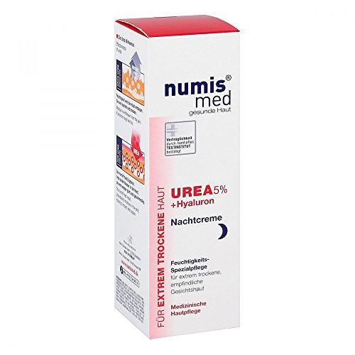 Numis med Urea 5% Nachtcreme+hyaluron 50 ml