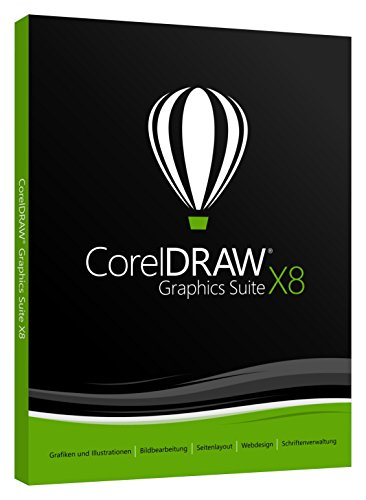 CorelDraw Graphics Suite X8 DE/DVD Box