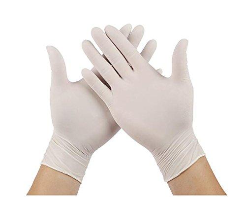 50 paires (100) jetables en nitrile sans poudre Gants d'examen médical en latex stériles Gant pour peinture et de finition des Services