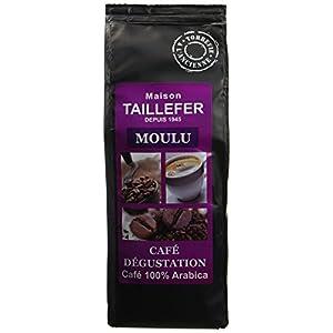 Maison Taillefer Café Dégustation Moulu 250 g - Lot de 9