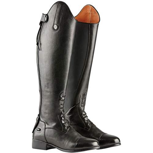 Dublin Damen Holywell Tall Leder-Reitstiefel (42EU Regular/Regular) (Schwarz) -